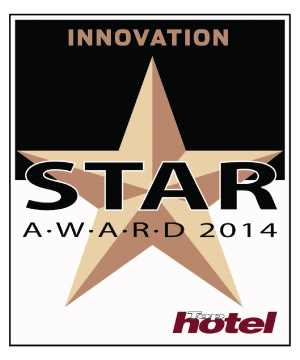 OBB erhält den Top Hotel Star AWARD 2014